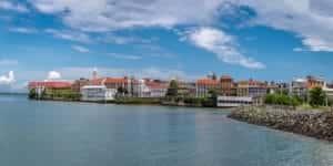 Panama Casco Viejo Skyline